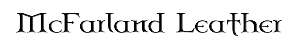 McFarland Leather Logo